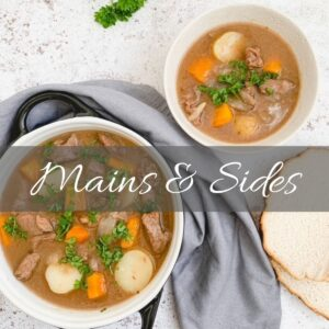 Mains & Side dishes